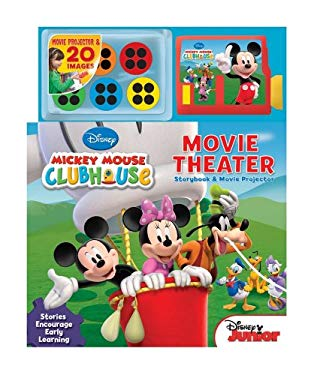 Disney Mickey Mouse Clubhouse Movie Theater: Storybook and Movie Projector 9780794425876