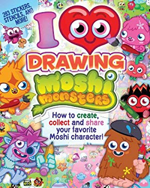 I Love Drawing Moshi Monsters 9780794427931