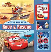 Disney Race & Rescue: Movie Theater Storybook & Movie Projector 23412514