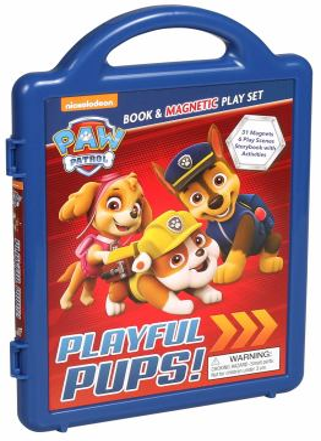 PAW Patrol: Playful Pups!: Book & Magnetic Playset