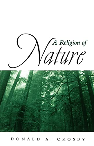A Religion of Nature 9780791454541