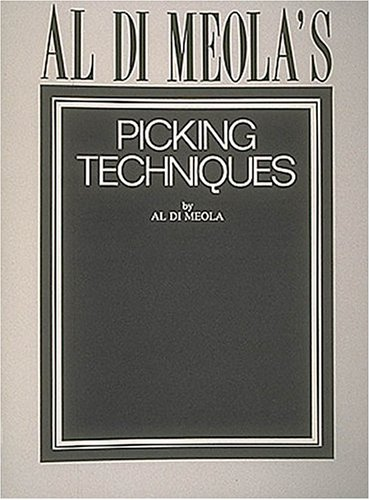 Al Di Meola's Picking Techniques 9780793510184