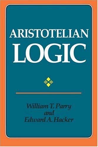 Aristotelian Logic 9780791406908