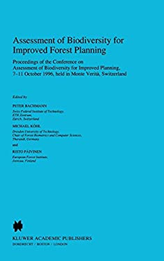 Assessment of Biodiversity for Improved Forest Planning 9780792348726