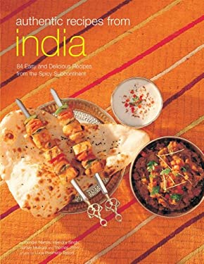 Authentic Recipes from India 9780794602376