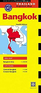 Bangkok Travel Map 3rd Edition 9780794600150