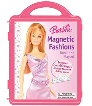 Barbie Magnetic Fashions: Book and Playset [With Play Scenes & 2 Magnetic Sheets and 60 Magnets] 9780794416409