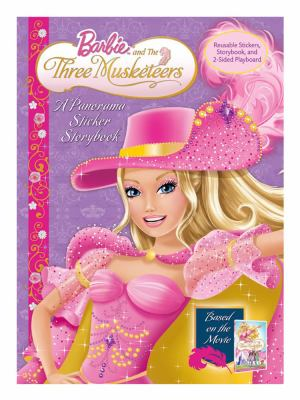 Barbie and the Three Musketeers: Panorama Stickerbook 9780794418724
