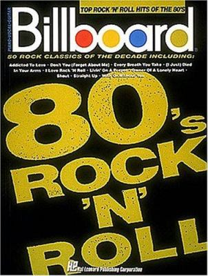 Billboard Top Rock 'n' Roll Hits of the 80's 9780793508747