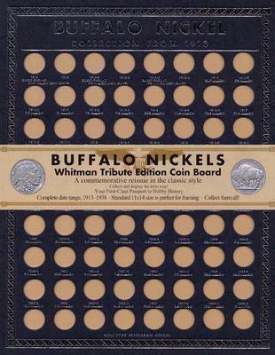 Buffalo Nickel Tribute Board 9780794824167