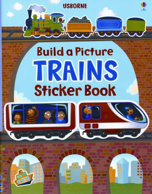 Build a Picture Sticker Trains 9780794532611
