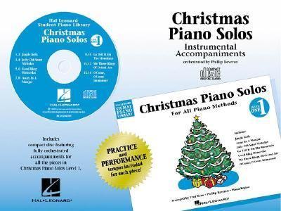 Christmas Piano Solos - Level 1 - CD: Hal Leonard Student Piano Library 9780793596744