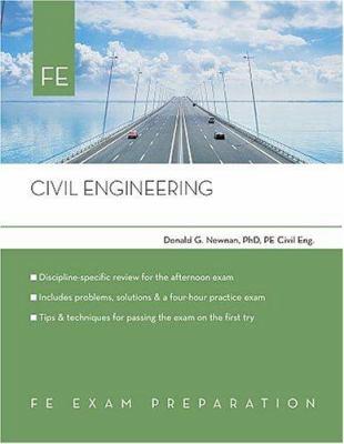 Civil Engineering: Fe Exam Preparation 9780793195671