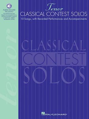 Classical Contest Solos - Tenor 9780793578016