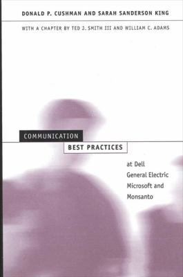 Communication Best Practices at Dell 9780791457399