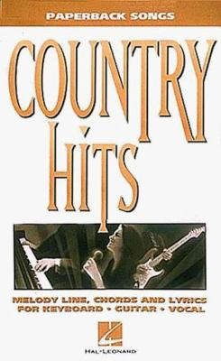 Country Hits: Paperback Songs 9780793552580