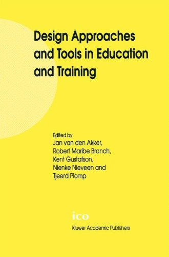 Design Approaches and Tools in Education and Training 9780792361398