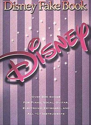 Disney Fake Book 9780793545216