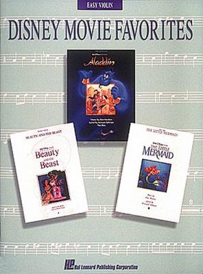 Disney Movie Favorites: Easy Violin