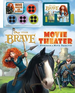 Brave Movie Theater Storybook [With Projector and 5 Picture Disks] 9780794425524