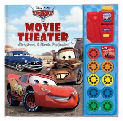 Disney Pixar Cars Movie Theater Storybook & Movie Projector [With Movie Projector] 9780794412692