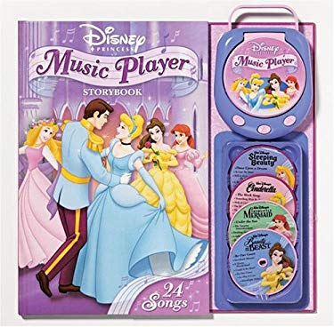 Disney Princess Music Player Storybook [With Music Player and CD (Audio)] 9780794404444