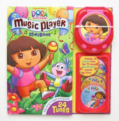 Dora the Explorer Music Player Storybook [With Music Player and 4 CDs] 9780794420338