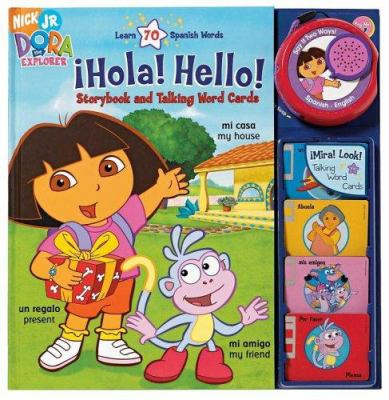 Dora the Expolrer !Hola! Hello! [With Talking Word Cards] 9780794409180