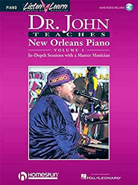 Dr. John Teaches New Orleans Piano - Volume 1 9780793581702