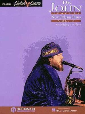 Dr. John Teaches New Orleans Piano - Volume 3 9780793581788