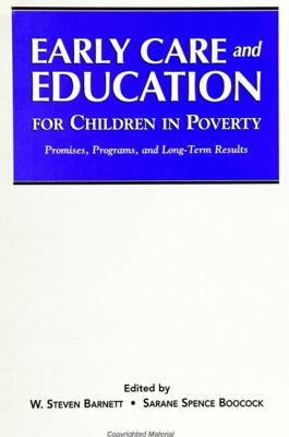 Early Care and Education for Children in Poverty 9780791436196