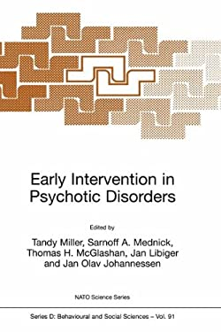 Early Intervention in Psychotic Disorders 9780792367499