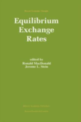 Equilibrium Exchange Rates 9780792384243