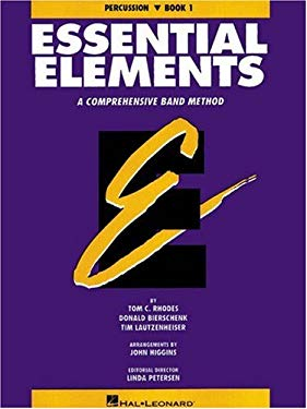 Essential Elements Book 1 - Percussion 9780793512652