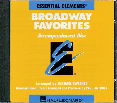 Essential Elements Broadway Favorites - CD Accompaniment 9780793598595