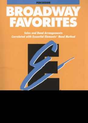Essential Elements Broadway Favorites - Percussion 9780793598564