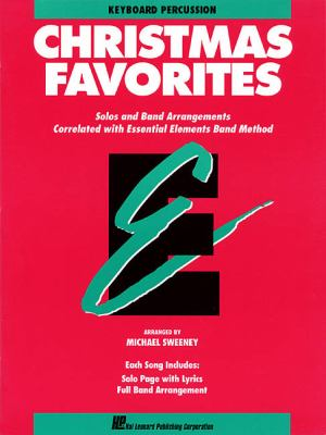 Essential Elements Christmas Favorites - Keyboard Percussion 9780793517671