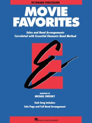Essential Elements Movie Favorites - Keyboard Percussion 9780793559664