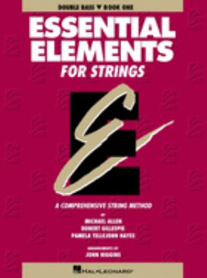 Essential Elements for Strings Book 1 - Double Bass 9780793543076
