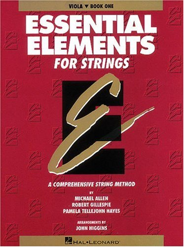 Essential Elements for Strings Book 1 - Viola 9780793543069