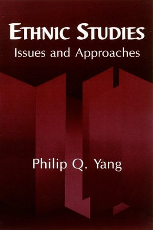 Ethnic Studies: Issues and Approaches 9780791444801
