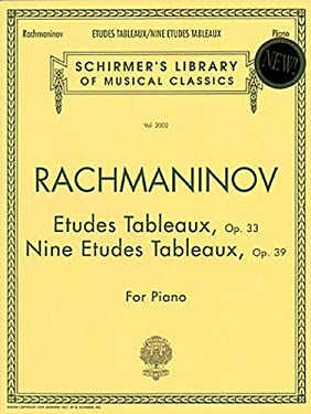 Etudes Tableaux, Op. 33 & 39: Piano Solo 9780793545186