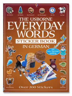 Everyday Words in German Sticker Book 9780794504793