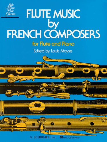 Flute Music by French Composers 9780793525768