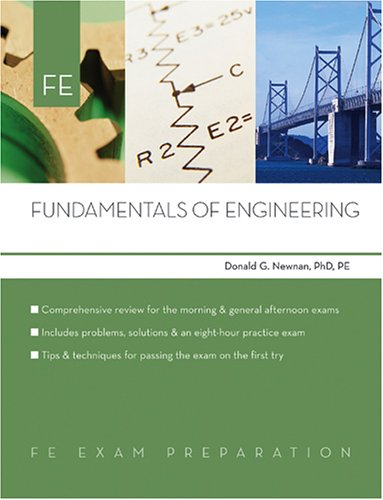 Fundamentals of Engineering: Fe Exam Preparation 9780793195589
