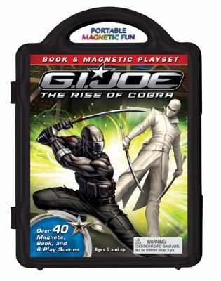G.I. Joe the Rise of Cobra Book & Magnetic Playset [With Book(s) and 6 Play Scenes and Over 40 Magnets] 9780794418991