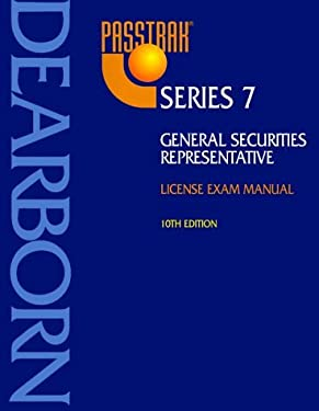 General Securities Representative: License Exam Manual 9780793134663