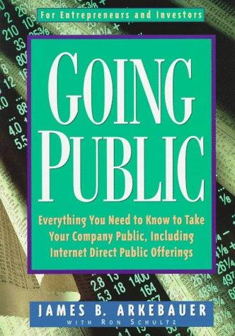 Going Public 9780793128358