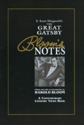 Great Gatsby (Bloom's Notes) 9780791036518