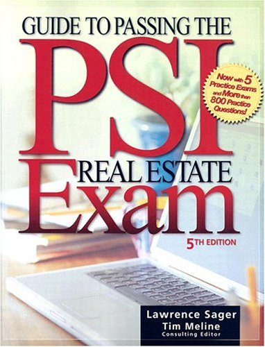 Guide to Passing the PSI Real Estate Exam 9780793188345